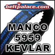 MANCO 5959 ASYM BELT. ASW GO KART BELT 5959.