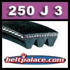250J3 Poly-V Belt. *CLEARANCE*