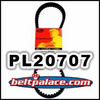 PL20707 Standard Belt. Gates 743x20x30 belt for Go karts, Scooters, Mini-Bikes. MANCO 14363 Belt. ATV-Scooter Belt 743-20-30.