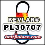 PL30707 PREMIUM KEVLAR Belt. Gates 743x20x30 belt for Go karts, Scooters, Mini-Bikes. MANCO 14363 Belt. ATV-Scooter Belt 743-20-30.