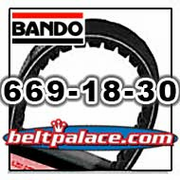 BANDO 669-18-30 Scooter Belt, SYMMETRIC 669 VS BELT.