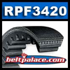RPF3420 Automotive V-Belt. 43� Effective Length (1102mm), 1/2� (0.47�) Top Width.