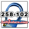 "Stens 258-102 True-Blue 5/8"" x 102"" Belt for Dixie Chopper 2006B99W, Gates 69102, Goodyear 891020, Dayco L5102"
