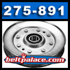 Stens 275-891. 5 inch dia. V-Idler Pulley. Replaces JOHN DEERE AM136357 and Others.