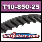 T10-850-25 Metric Timing belt. 25MM Wide.