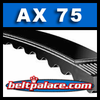 Tri-Power Molded Notch V-Belts: AX Series