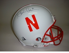 Ahman Green Autographed Nebraska Huskers Full Size Authentic Helmet