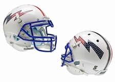 Air Force Falcons RWB Stripes, Stars and Stripes Schutt XP Authentic Helmet