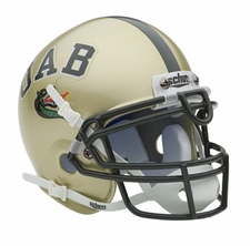 Alabama Birmingham Blazers Schutt Authentic Mini Helmet