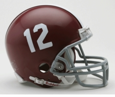 Alabama Crimson Tide '12' Riddell Replica Mini Helmet