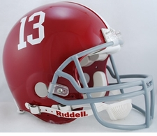 "Alabama Crimson Tide ""13"" Riddell Pro Line Authentic Helmet"
