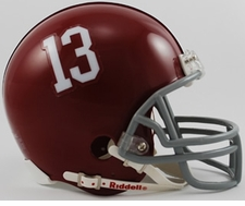 Alabama Crimson Tide '13' Riddell Replica Mini Helmet