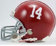 "Alabama Crimson Tide ""14"" Riddell Pro Line Authentic Helmet"