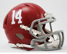 Alabama Crimson Tide '14' Riddell Speed Mini Helmet