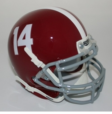Alabama Crimson Tide '14' Schutt Authentic Mini Helmet