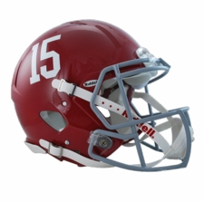 "Alabama Crimson Tide ""15"" Riddell Revolution Speed Authentic Helmet"
