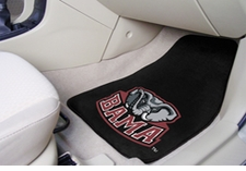 Alabama Crimson Tide 2-Piece Carpeted Car Mats Front Set