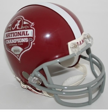 Alabama Crimson Tide 2011 National Champions Riddell Replica Mini Helmet