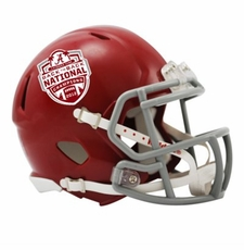 Alabama Crimson Tide 2013 National Champions Riddell Speed Mini Helmet