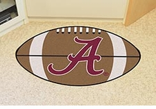 "Alabama Crimson Tide 22""x35"" Football Floor Mat"