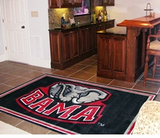 Alabama Crimson Tide 4'x6' Floor Rug