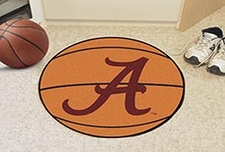 "Alabama Crimson Tide ""A"" 27"" Basketball Floor Mat"