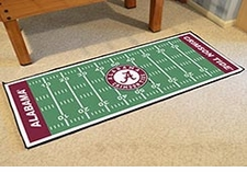 "Alabama Crimson Tide Football Runner 30""x72"" Floor Mat"