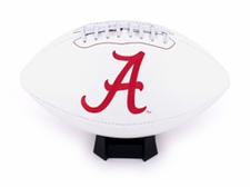 Alabama Crimson Tide Full Size Signature Embroidered Football