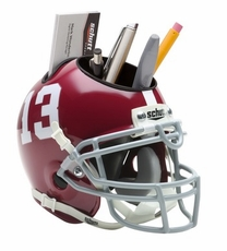 Alabama Crimson Tide Helmet Desk Caddy