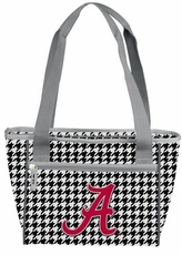 Alabama Crimson Tide Houndstooth 16 Can Cooler Tote