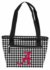 Alabama Crimson Tide Houndstooth 8 Can Cooler Tote