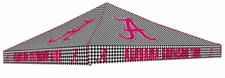 Alabama Crimson Tide Houndstooth Logo Tent Replacement Canopy