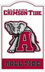 Alabama Crimson Tide Nostalgic Metal Sign