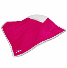 Alabama Crimson Tide Pink Sherpa Throw Blanket