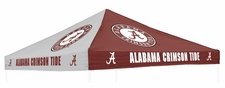 Alabama Crimson Tide Red / Grey Logo Tent Replacement Canopy