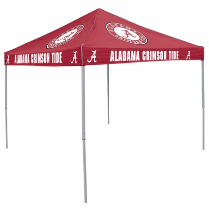 Alabama Crimson Tide Red Logo Canopy Tailgate Tent