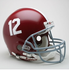 "Alabama Crimson Tide ""12"" Riddell Pro Line Authentic Helmet"