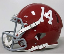 "Alabama Crimson Tide ""14"" Riddell Revolution Speed Authentic Helmet"