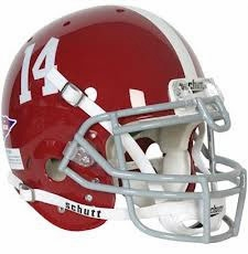 "Alabama Crimson Tide ""14"" Schutt Authentic Full Size Helmet"