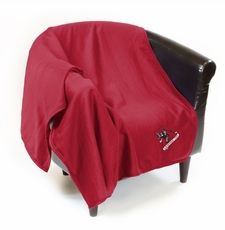 Alabama Crimson Tide Vault Sweatshirt Throw Blanket