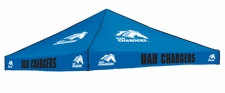 Alabama Huntsville Chargers Blue Logo Tent Replacement Canopy