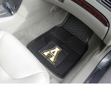 Appalachian State Mountaineers 2-Piece Heavy Duty Vinyl Car Mat Set