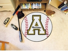 "Appalachian State Mountaineers 27"" Baseball Floor Mat"