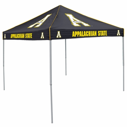 Appalachian State Mountaineers Black Logo Canopy Tailgate Tent