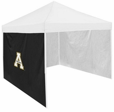 Appalachian State Mountaineers Black Side Panel for Logo Tents