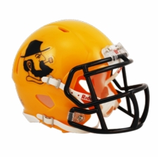 Appalachian State Mountaineers Yellow Yosef Riddell Speed Mini Helmet