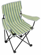 Aqua Stripe Youth Chair