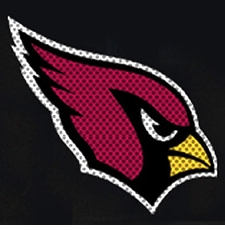 Arizona Cardinals 12 x 12 Die-Cut Window Film Decal