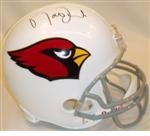 Arizona Cardinals Autographed Football Gear