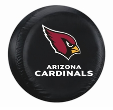 Arizona Cardinals Black Large Spare Tire Cover